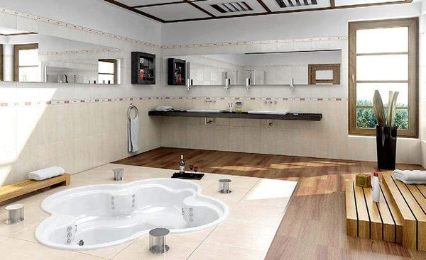 浴室效果图素材