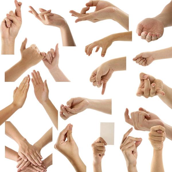 手势图片3-肢体动作高清图库-名片之家