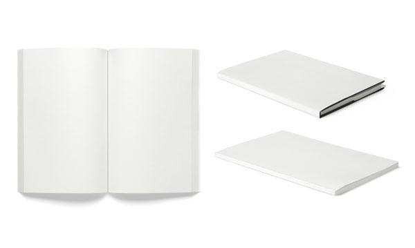 空白书本杂志素材
