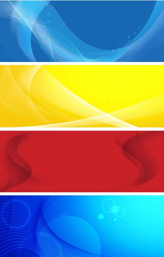扭曲线条彩色背景素材