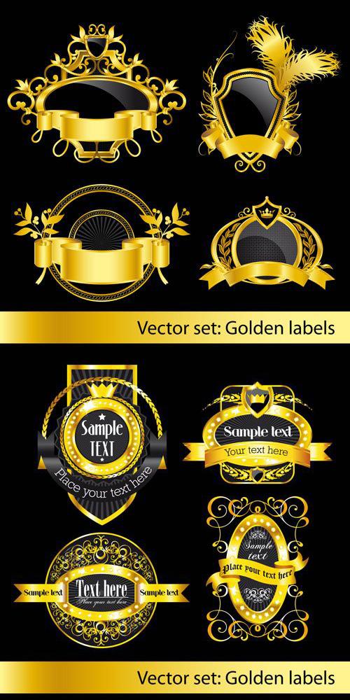 金色花纹皇冠素材