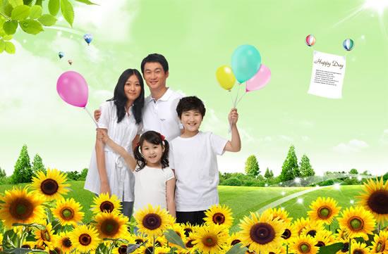 家庭生活_家庭图片_生活人物_高清图片下载