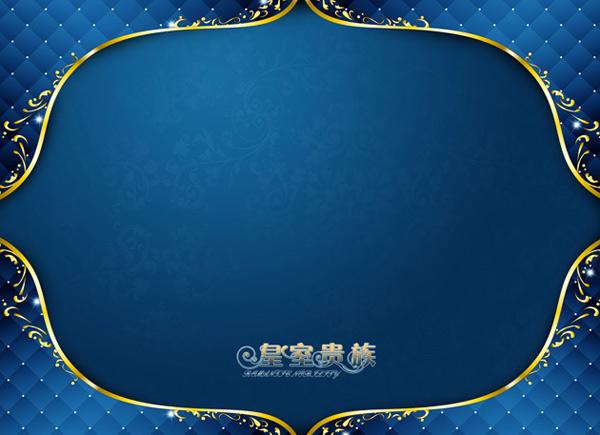 蓝色写真模板-背景底纹高清图库-名片之家