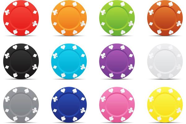 彩色印花盘子素材
