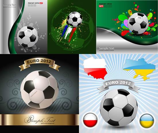 2012欧洲杯海报素材