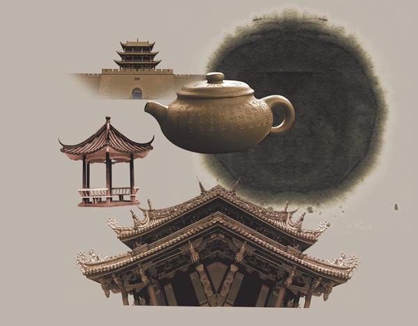 中国风古典元素素材