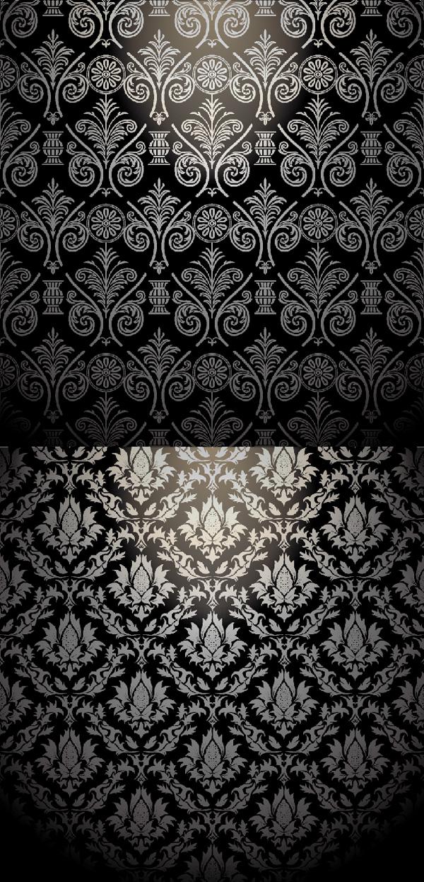 欧式花纹样式