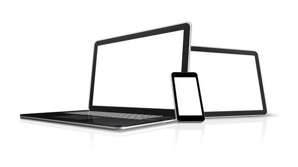 手机与平板电脑素材