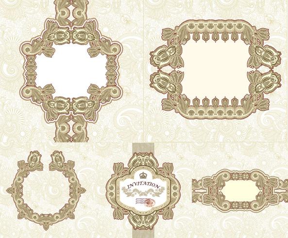 经典花纹边框素材