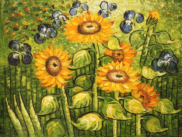 油画图片高清_世界100著名油画风景画