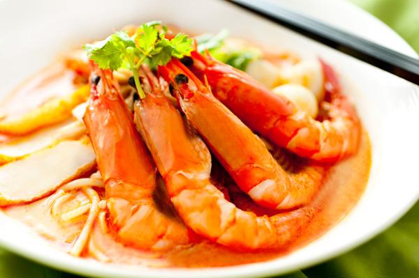 美味虾素材