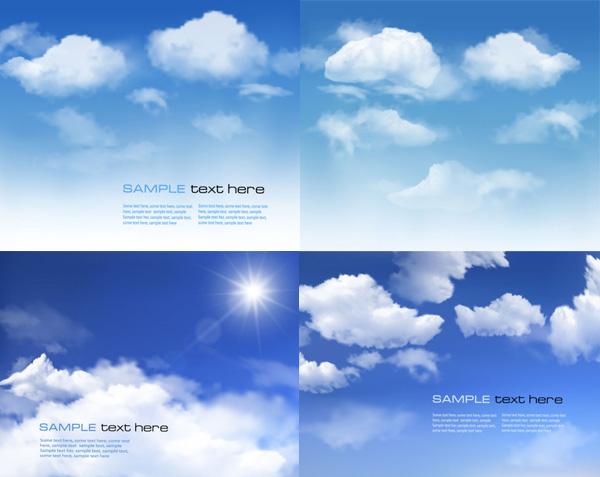 精美蓝天白云