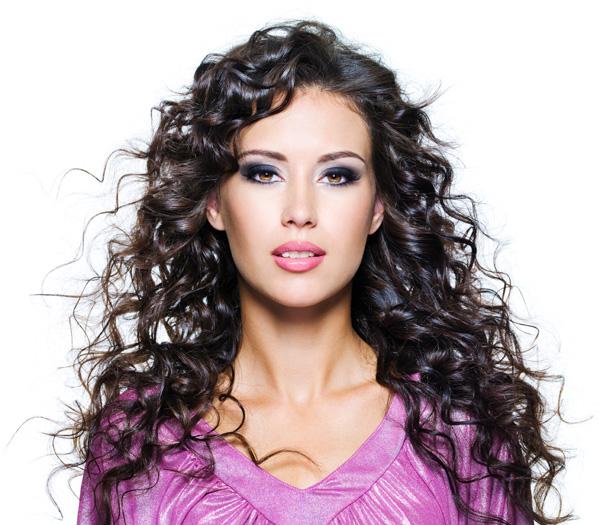 美女人物发型