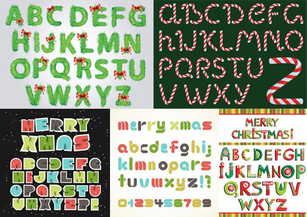 创意字母矢量