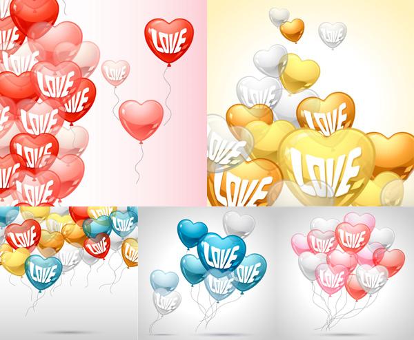 心形透明气球