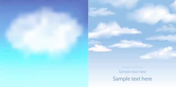 天空云层背景素材