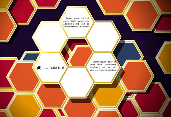 彩色创意背景-矢量图库-名片之家