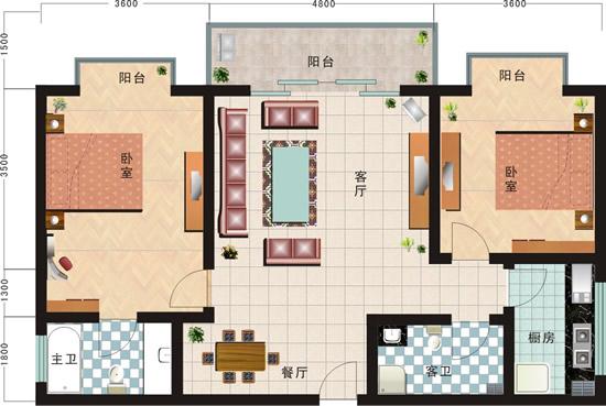 家居平面图,房屋户型图,平面布置图,家庭装修图片素材,免费