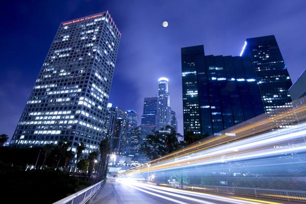 城市夜景素材2-建筑景观高清图库-名片之家