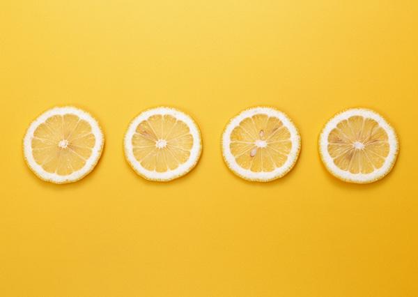 手绘柠檬桌面壁纸