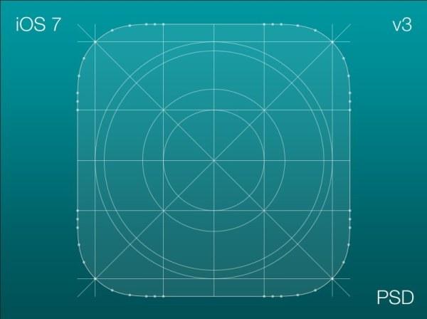 ios7的图标勾线素材