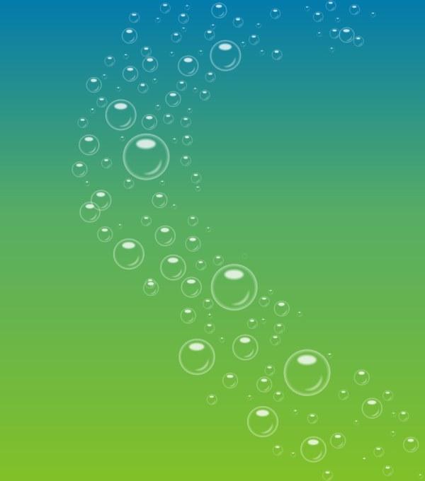 泡泡渐变色背景素材