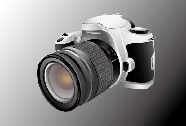 单反相机模型素材