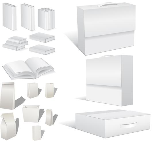 空白书籍包装素材