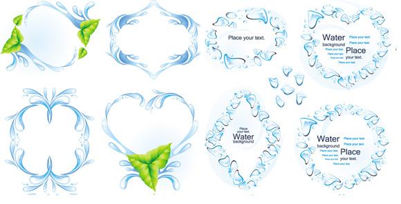 生态环保水滴素材