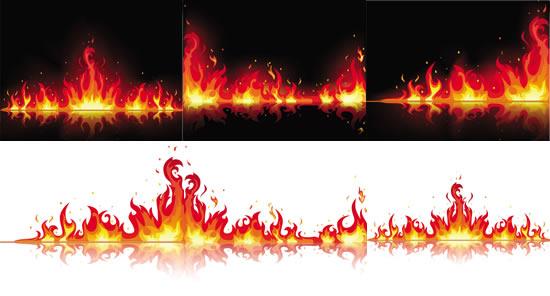 精美火焰矢量素材