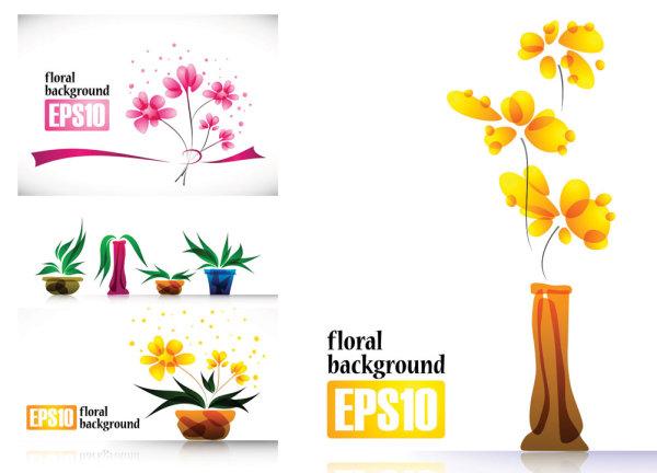 植物花朵摆设素材