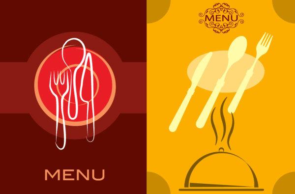 餐厅菜单模板素材
