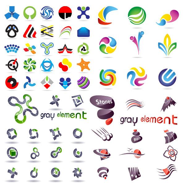 logo图形模板矢量素材