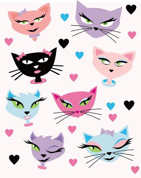 可爱小猫卡通