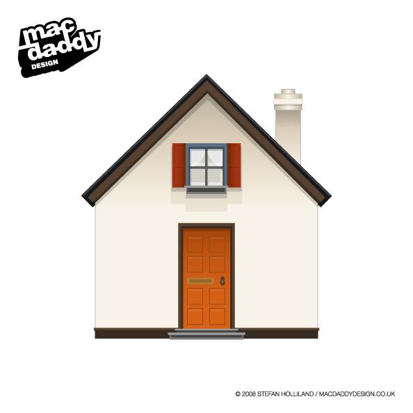 房子图标矢量素材