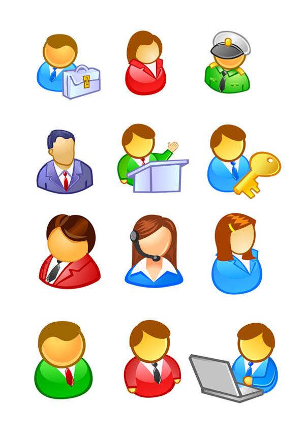 人物用户图标素材