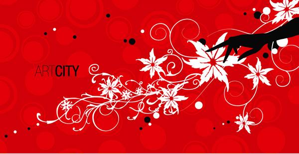 花纹与手素材