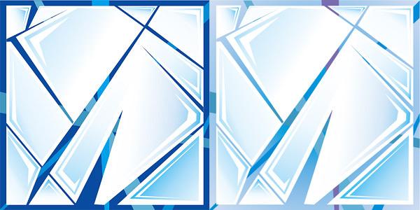 冰花纹玻璃贴图