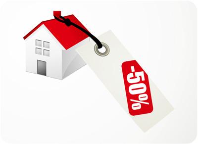 房子减价销售素材