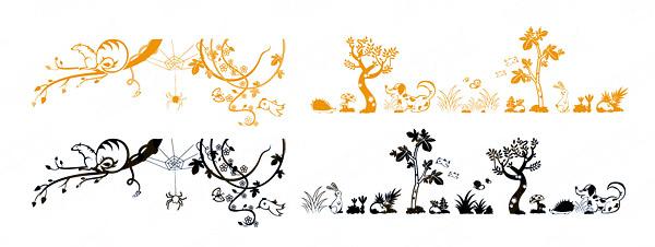 动物与植物