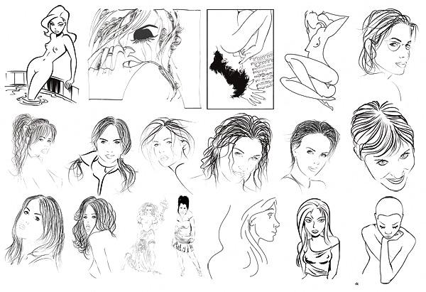 手绘风格类角色模型
