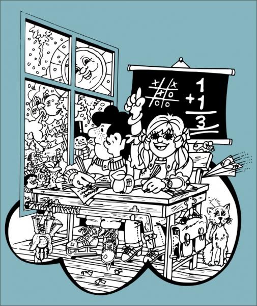 矢量漫画人物,矢量漫画,矢量场景,CDR格式,