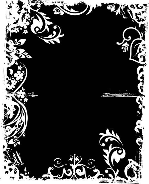 水墨边框背景_34素材