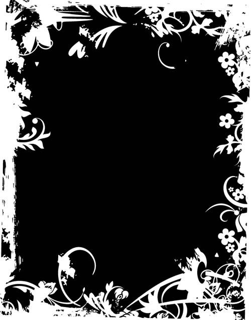 水墨边框背景_30-背景矢量图库-名片之家