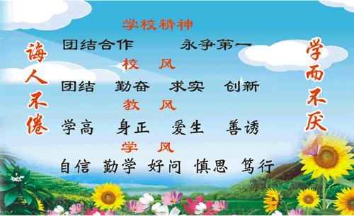柳州市兰园小学名片模板图片