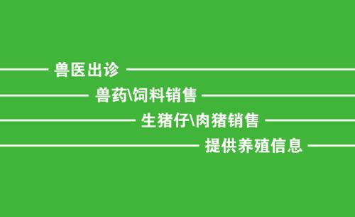 融水县四荣乡合发生猪养殖场名片设计欣赏